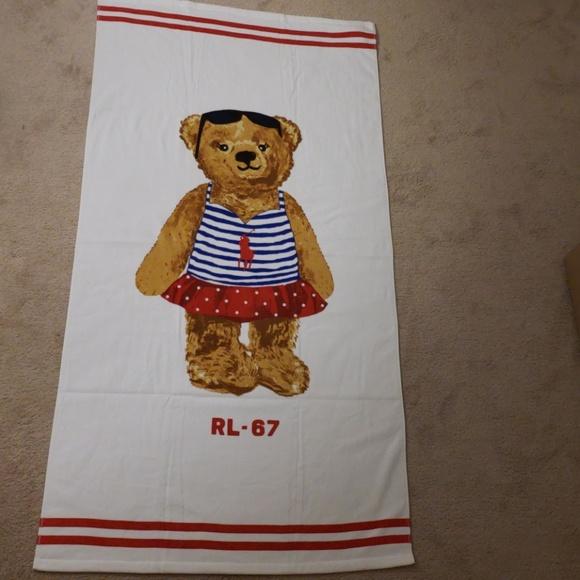 Polo Ralph Lauren Oversized Beach Towel Nwt